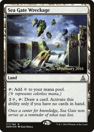 Sea Gate Wreckage [Oath of the Gatewatch Promos] | Lots Moore NSW