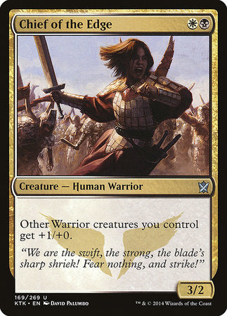 Chief of the Edge [Khans of Tarkir] | Lots Moore NSW