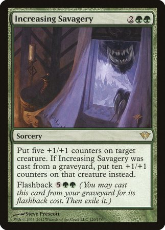 Increasing Savagery [Dark Ascension] | Lots Moore NSW