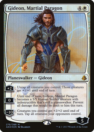 Gideon, Martial Paragon [Amonkhet] | Lots Moore NSW