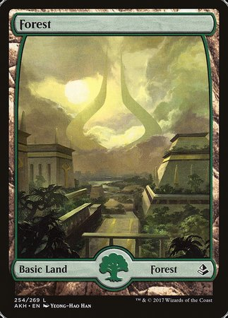 Forest (254) - Full Art [Amonkhet] | Lots Moore NSW