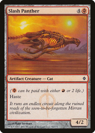 Slash Panther [New Phyrexia] | Lots Moore NSW
