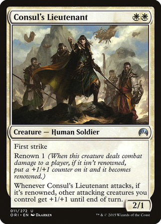 Consul's Lieutenant [Magic Origins] | Lots Moore NSW