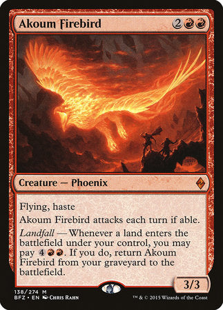 Akoum Firebird [Battle for Zendikar] | Lots Moore NSW