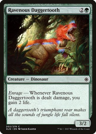 Ravenous Daggertooth [Ixalan] | Lots Moore NSW