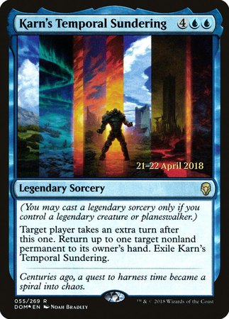 Karn's Temporal Sundering [Dominaria Promos] | Lots Moore NSW