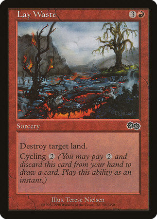 Lay Waste [Urza's Saga] | Lots Moore NSW