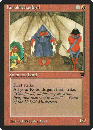 Kobold Overlord [Legends] | Lots Moore NSW