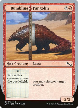 Bumbling Pangolin [Unstable] | Lots Moore NSW