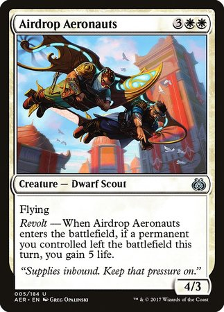 Airdrop Aeronauts [Aether Revolt] | Lots Moore NSW
