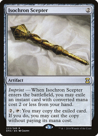 Isochron Scepter [Eternal Masters] | Lots Moore NSW