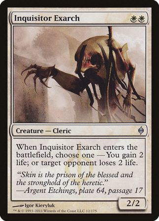 Inquisitor Exarch [New Phyrexia] | Lots Moore NSW
