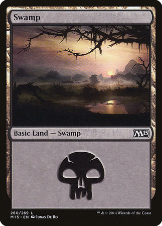 Swamp (260) [Magic 2015] | Lots Moore NSW