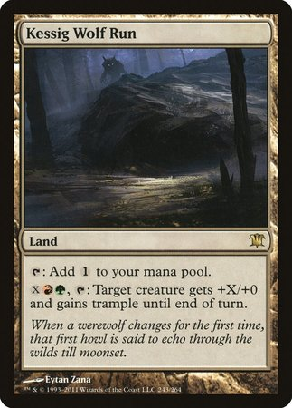 Kessig Wolf Run [Innistrad] | Lots Moore NSW