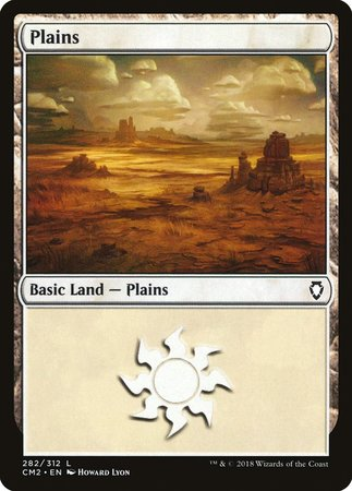 Plains (282) [Commander Anthology Volume II] | Lots Moore NSW