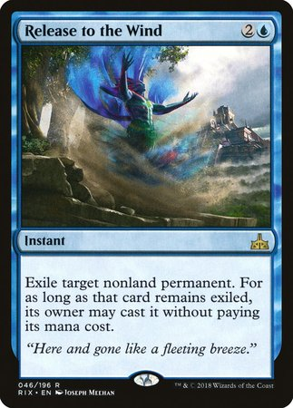 Release to the Wind [Rivals of Ixalan] | Lots Moore NSW