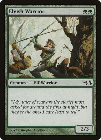 Elvish Warrior [Duel Decks: Elves vs. Goblins] | Lots Moore NSW