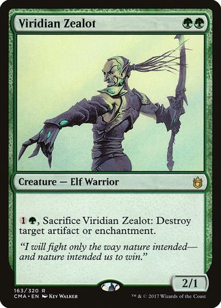 Viridian Zealot [Commander Anthology] | Lots Moore NSW