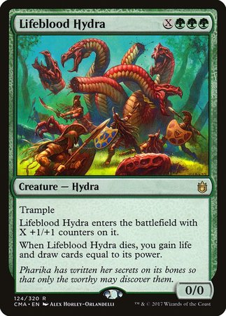 Lifeblood Hydra [Commander Anthology] | Lots Moore NSW