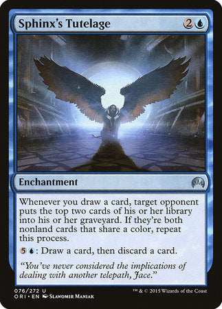 Sphinx's Tutelage [Magic Origins] | Lots Moore NSW
