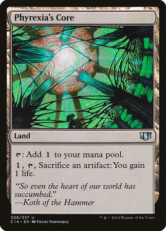 Phyrexia's Core [Commander 2014] | Lots Moore NSW