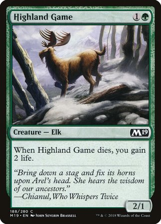 Highland Game [Core Set 2019] | Lots Moore NSW