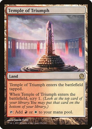 Temple of Triumph [Theros] | Lots Moore NSW