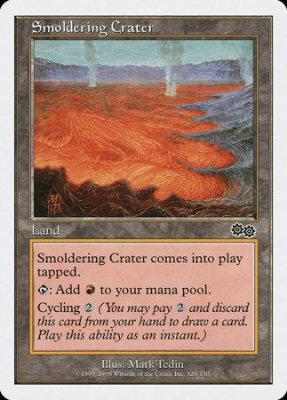 Smoldering Crater [Anthologies] | Lots Moore NSW
