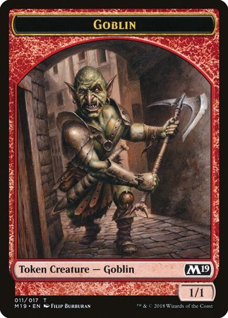 Goblin Token [Core Set 2019 Tokens] | Lots Moore NSW