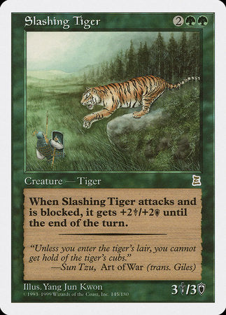 Slashing Tiger [Portal Three Kingdoms] | Lots Moore NSW