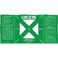 Flames of War Double-Width Artillery Template: Imperial | Lots Moore NSW
