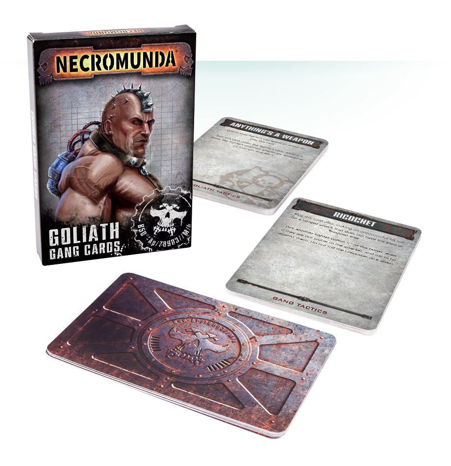 Necromunda Goliath Gang Cards | Lots Moore NSW