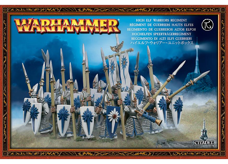 High Elf Warriors Regiment OOP NOS | Lots Moore NSW