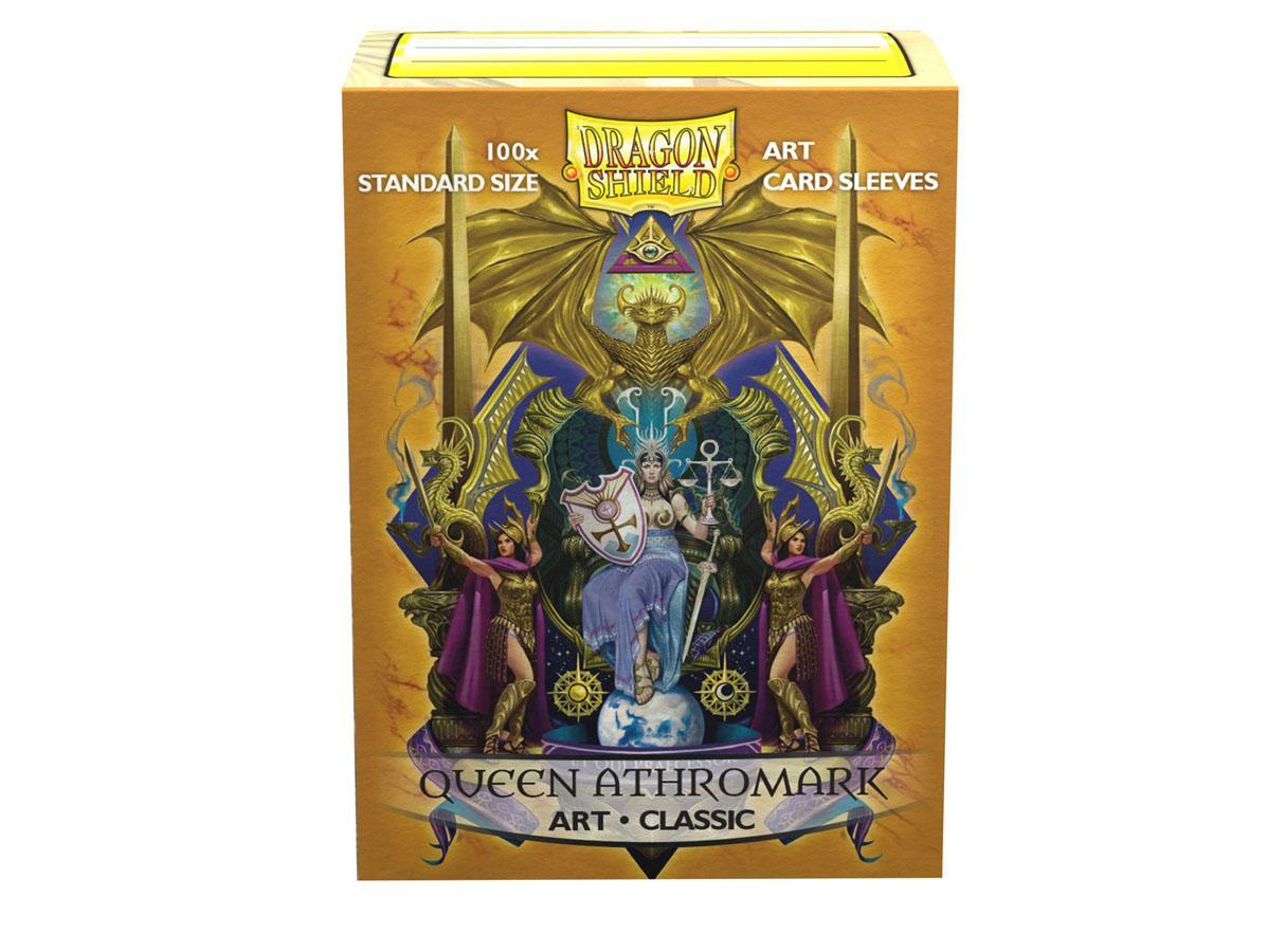 Dragon Shield Art Sleeve - 'Queen Athromark' 100ct | Lots Moore NSW