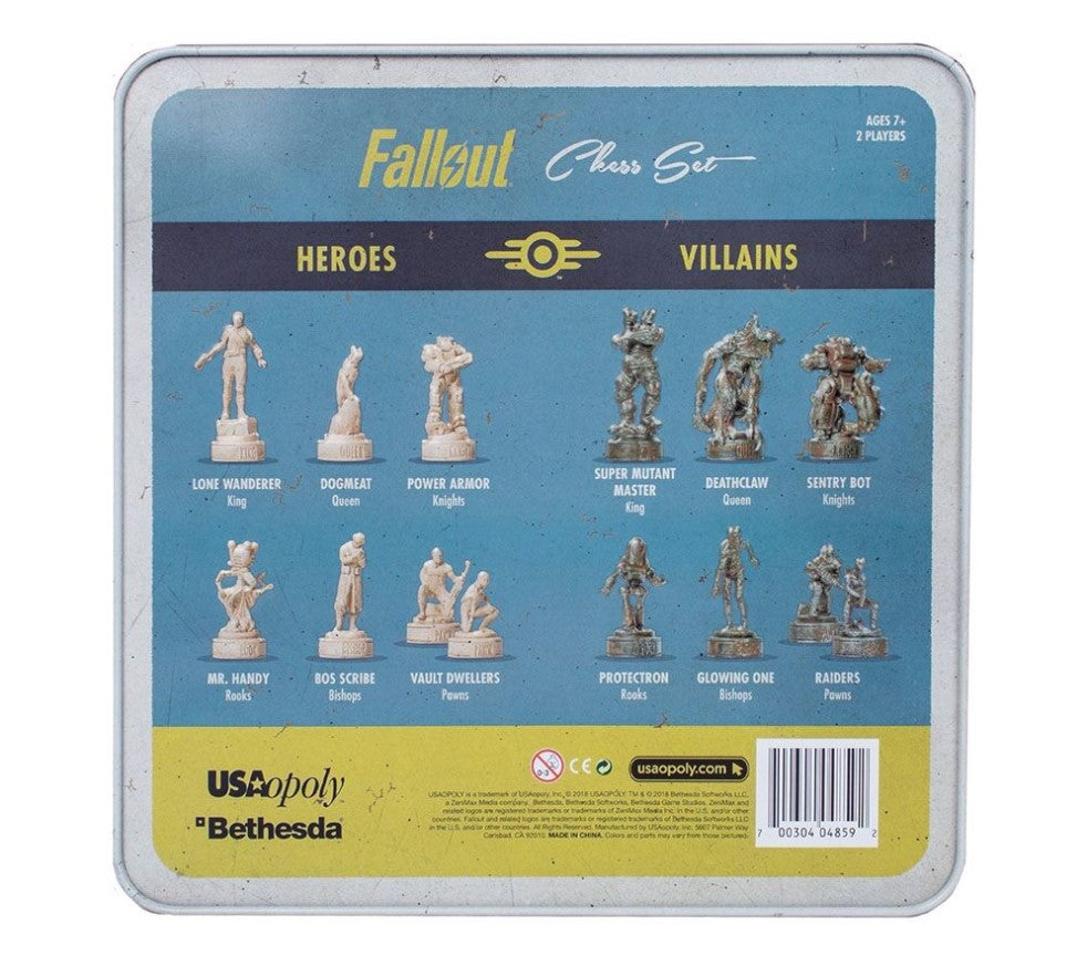 Fallout chess set | Lots Moore NSW