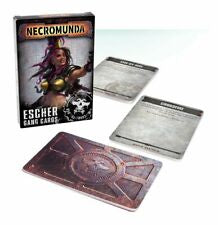 Necromunda Escher Gang Cards | Lots Moore NSW