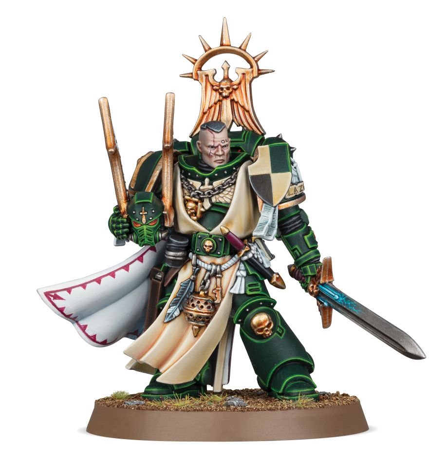 NOS#008 Dark Angels Master Lazarus | Lots Moore NSW