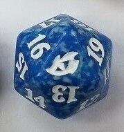 Blue Ikoria spin down dice | Lots Moore NSW