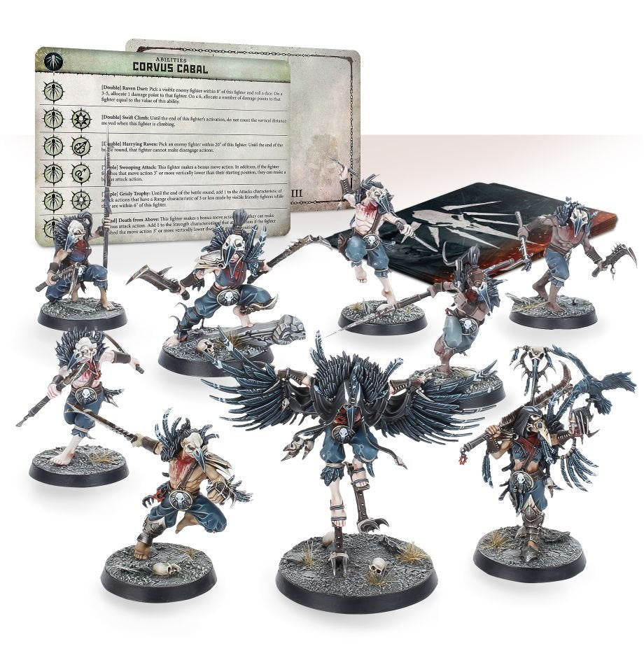 Corvus Cabal Warcry Warband | Lots Moore NSW