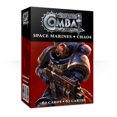 Space Marines vs Chaos Combat card game | Lots Moore NSW