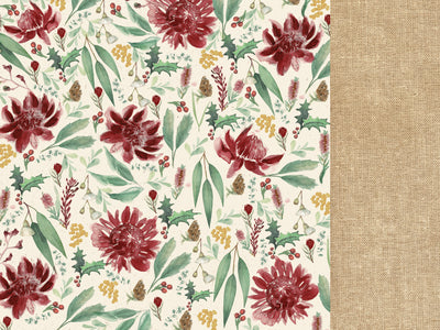12 x 12 Scrapbooking Paper Under The Gum Leaves Protea | Lots Moore NSW