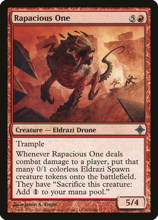 Rapacious One [Rise of the Eldrazi] | Lots Moore NSW