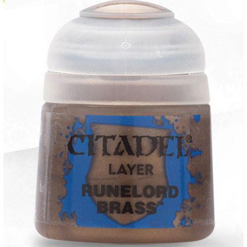 Runelord Brass Citadel Layer Paint | Lots Moore NSW