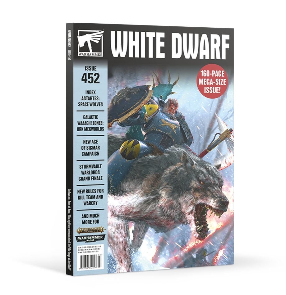 White Dwarf Magazine Issue 452 | Lots Moore NSW