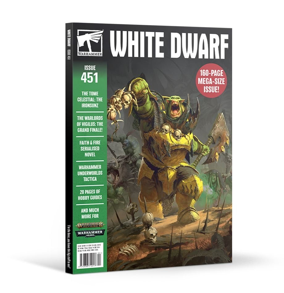 White Dwarf Magazine Issue 451 | Lots Moore NSW