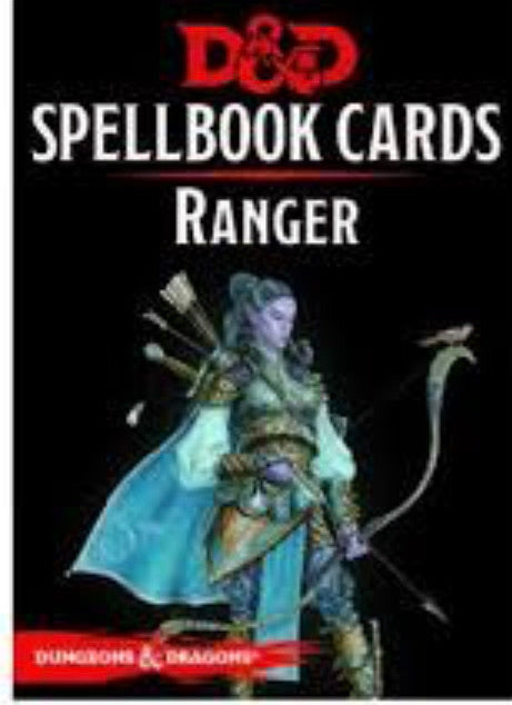 D&D Spellbook Cards Ranger | Lots Moore NSW