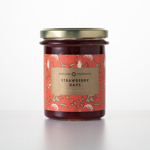 STRAWBERRY DAYS - England Preserves, jam, preserves, chutney, marmalade