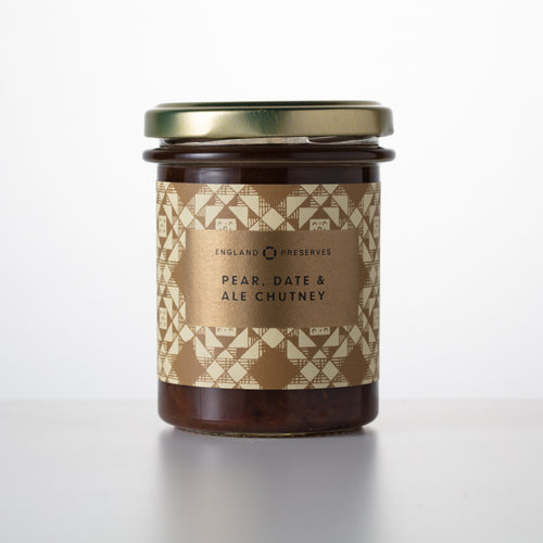 PEAR, DATE & ALE CHUTNEY - England Preserves