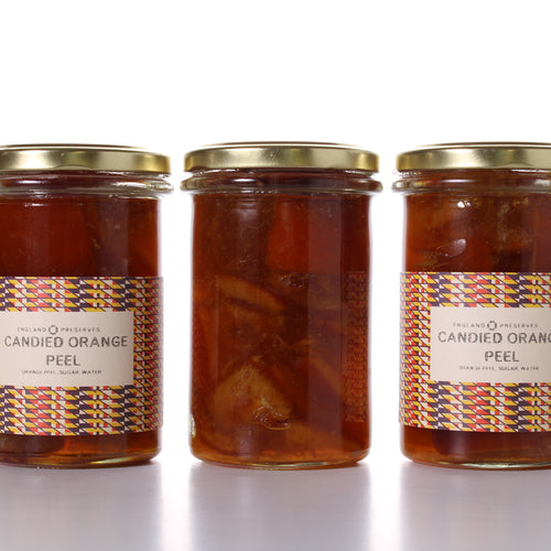 Cadied Orange Peel - England Preserves
