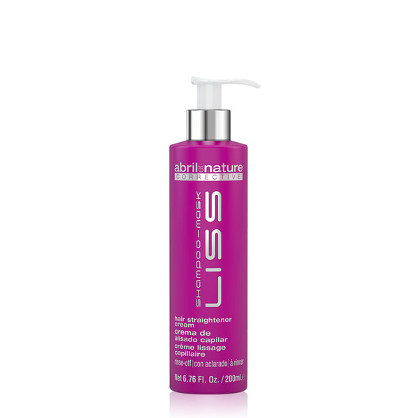 Corrective Liss Shampoo Mask Hair Straightener Cream 200ml